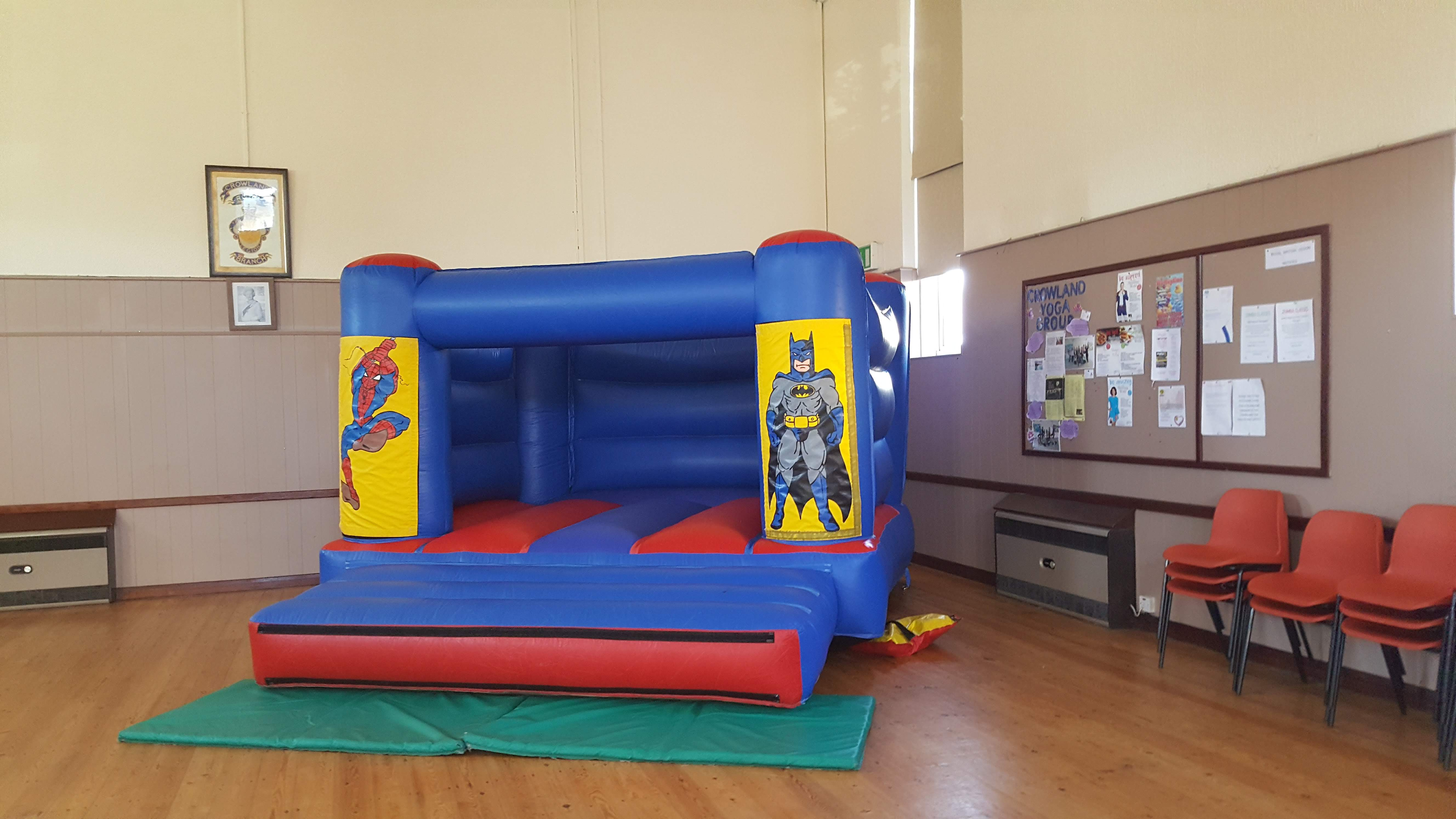 Superhero Bouncy Castle hire In Spalding and Peterborough
