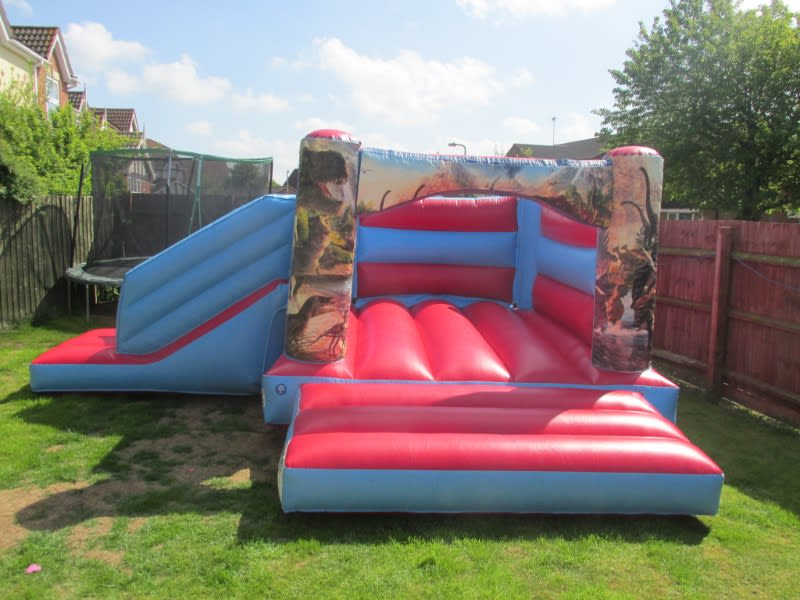 Jurassic bouncy castle hire in Spalding and Peterborough