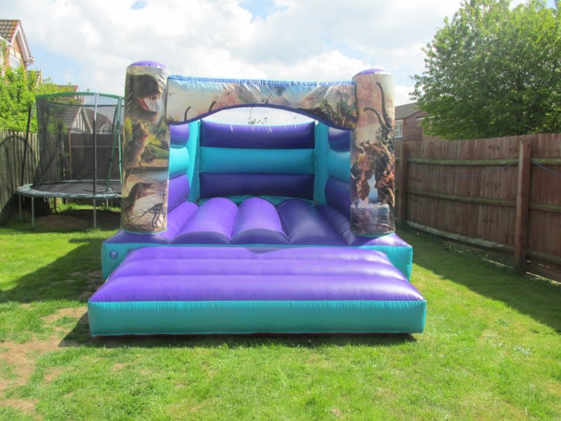 Jurassic bouncy castle hire in Peterborough and Spalding