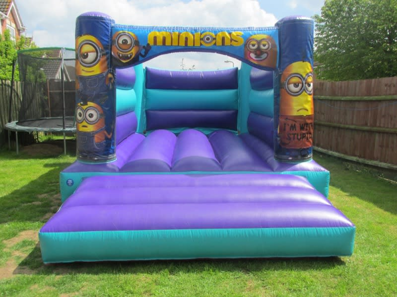 Minions Inflatable Citadel Hire In Spalding, South Holland