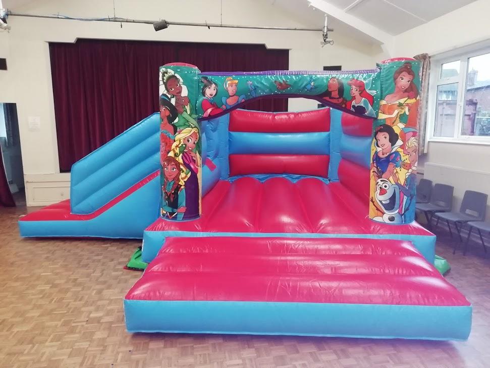 Red Princess Bouncy Castle hire Spalding
