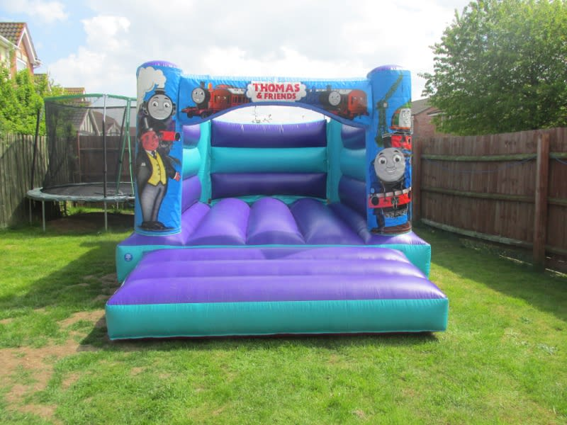 Thomas The Tank Engine Themed Bouncy Castle Hire In Spalding And Peterborough